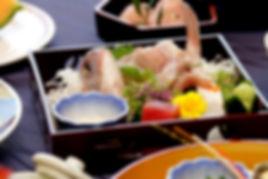 1日1組予約限定のコース料理や懐石料理も承っています。刺身と合わせた煎り酒が最高