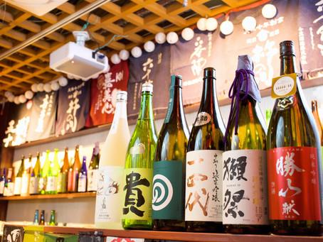 深夜の美味しいお食事、二次会も日本酒専門店タイムならお任せです♪