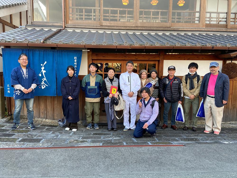 先日は花の香酒造さんで神田清隆代表と1day ツアートークイベント【土地を醸し美酒を醸す】を実施しました\(^o^)/
