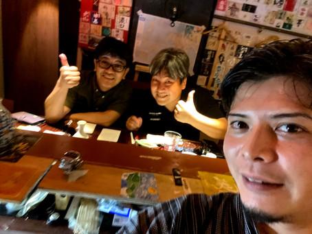 メンバーのひとりが奈良県より御来店!そしてその風景をグループ限定でライブ配信!