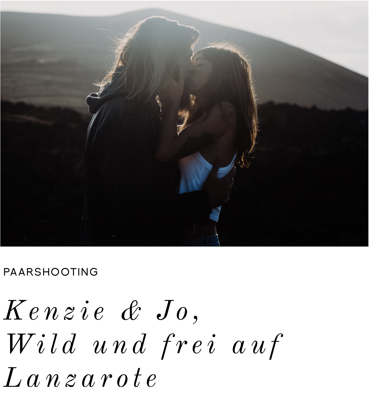 Coupleshooting-Lanzarote