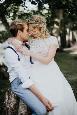 Braut-und-Brautigam-Mueggenbusch
