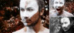 kreatives Fotoshooting, Krieger