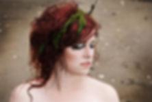 individuelles Fotoshooting, Algen im Haar