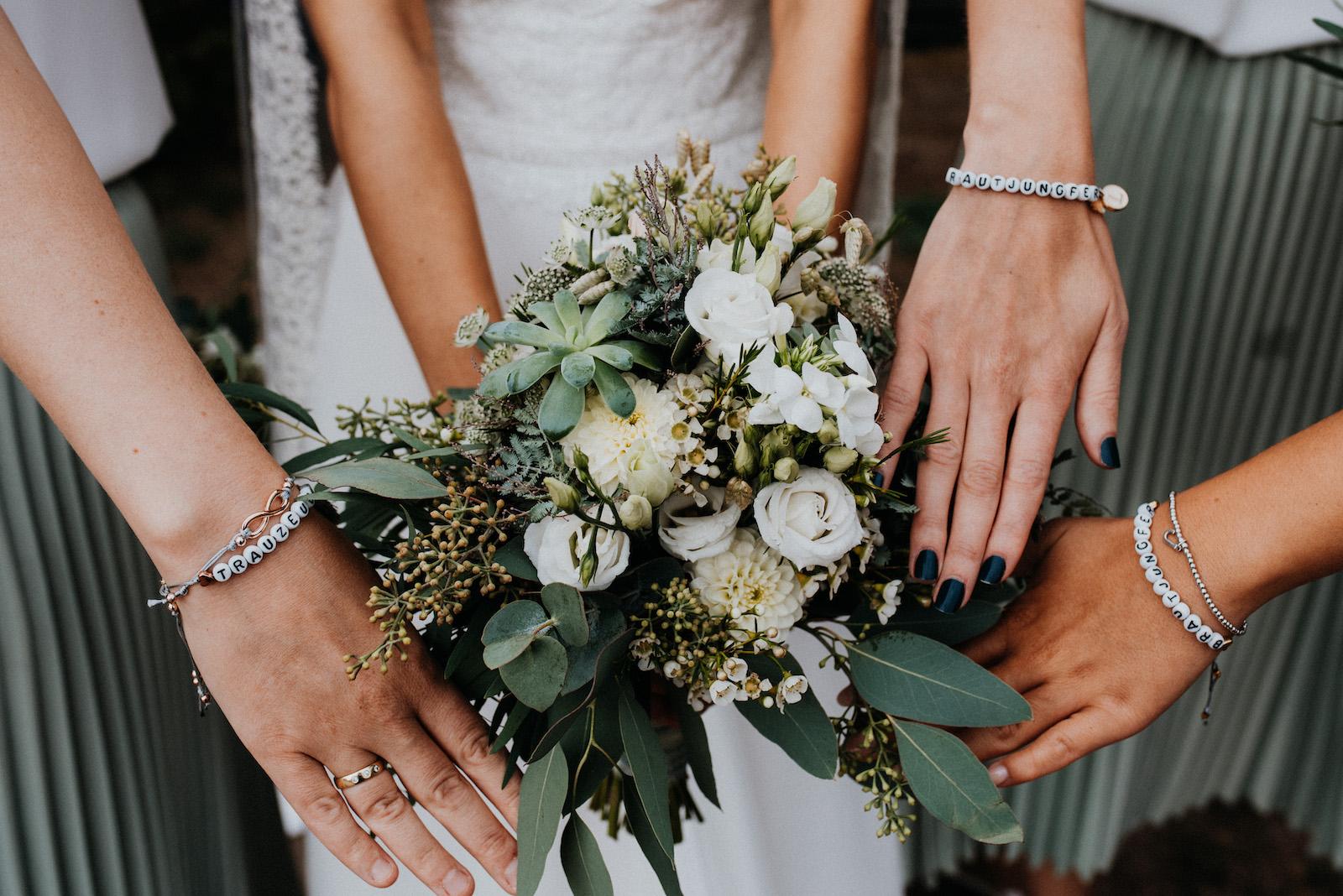 Hochzeitsinspiration-Brautjungfern