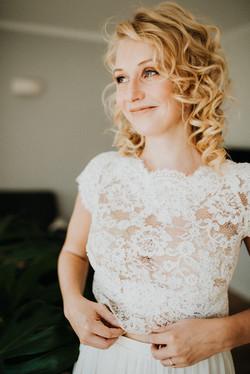 Braut-Brautkleid-Brautvorbereitung