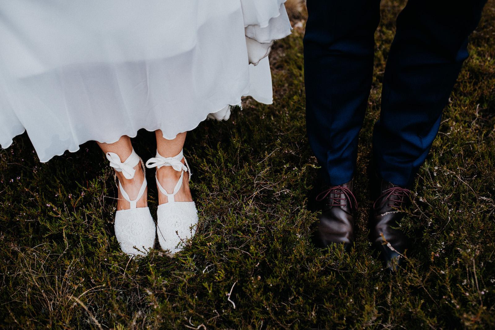 Brautpaarschuhe