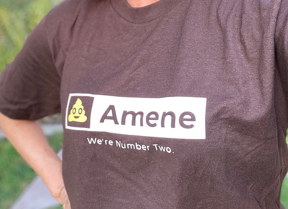 Brown Amene T-shirt