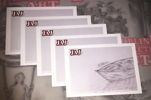 JAJ Art Postcard