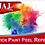 Thumbnail: Wooden Paint Palette with Removable Vinyl Top