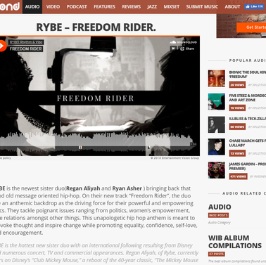 "Word is Bond- ""Freedom Rider"""