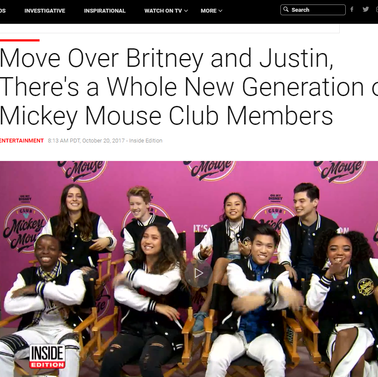 Inside Edition: Club Mickey Mouse