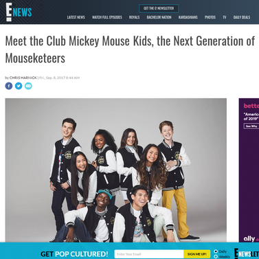 E! News: Meet the Club Mickey Mouse Kids