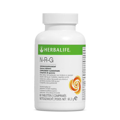 N-R-G guarana voedingssupplement 60 tabletten