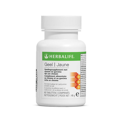 Geel (Thermojetics Yellow) voedingssupplement 60 tabletten
