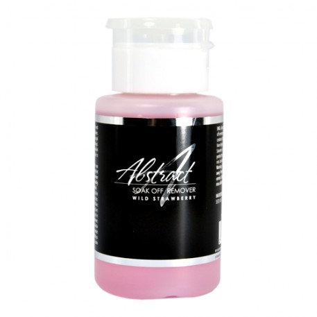 Soak Off Remover Wild Strawberry 150ml | Abstract