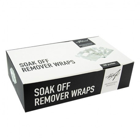 Soak Off Remover Wraps 500pcs/box | Abstract