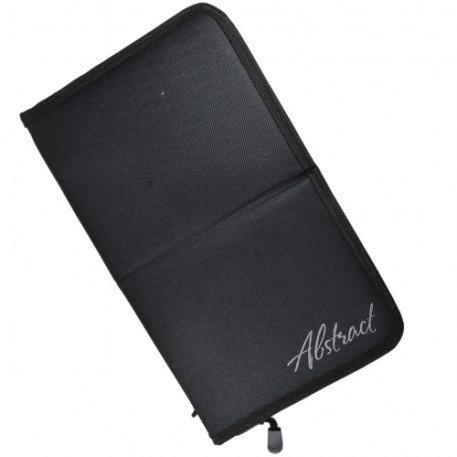 Brush Bag Stand Up Black | Abstract