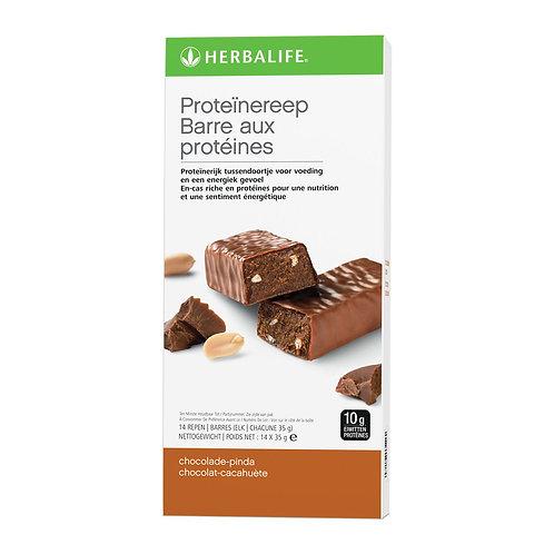 Proteïnereep chocolade pinda 14 repen van 35g