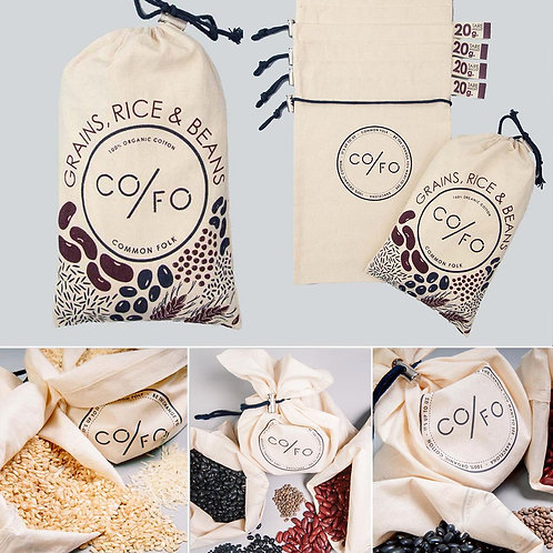 Co/Fo Rice and Beans Bags