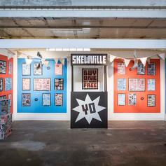 Skewville Installation & Exhibition