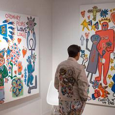 Mikkel Solo Exhibition at Moniker Art Fair 2019
