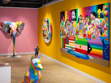 10 ways to cut waste in the art gallery.