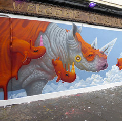Dulk Mural in East London