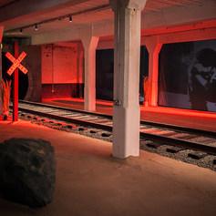 Transient Tales Entrance Installation