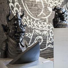 Yok & Sheryo Entrance Installation at Moniker Art Fair New York 2019