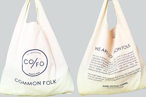 100% CO/FO cotton shopping bag