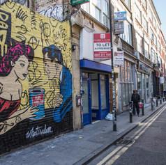 WhatisAdam mural in East London