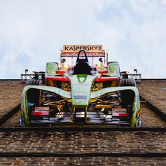 DFACE X Kaspersky Lab Formula E Race Car