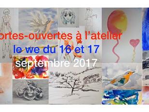 Les 3ème portes-ouvertes le WE du 16 et 17 septembre !