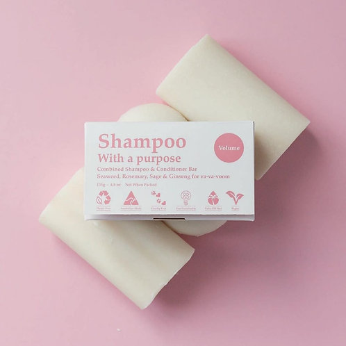 Shampoo with a purpose -Volume