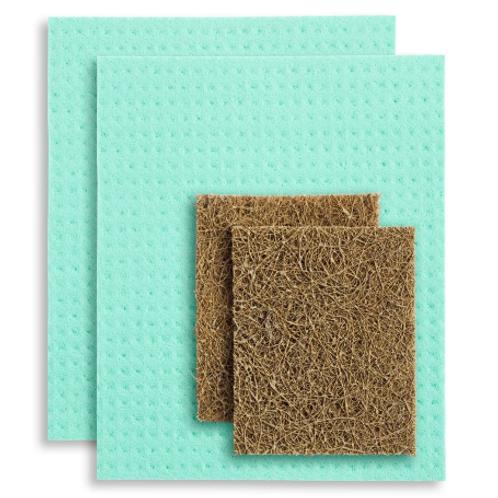 Compostable Kitchen Sponge Set