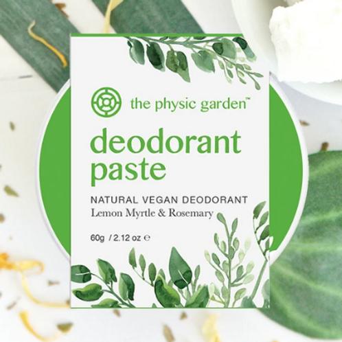 Natural Lemon Myrtle Deodorant Paste