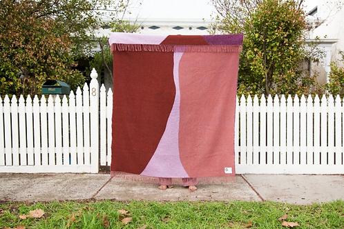 Recycled Woollen Blanket- Dune