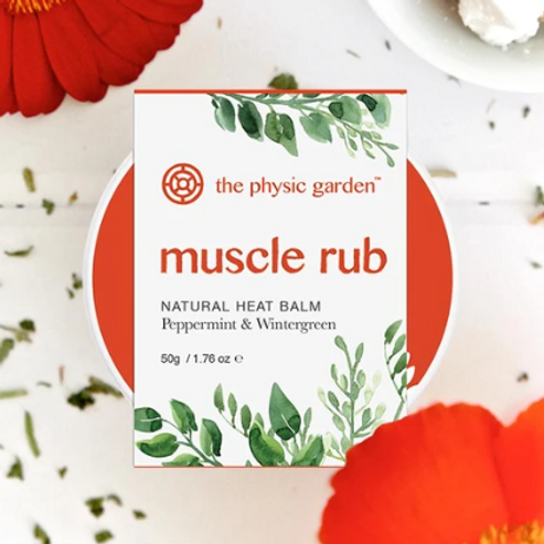 Natural Muscle Rub by The Physic Garden