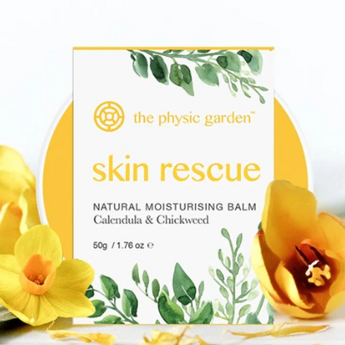 Natural Skin Rescue Balm by The Physic Garden