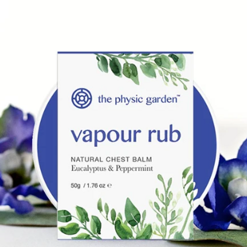 Natural Vapour Rub by The Physic Garden