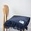 Thumbnail: Recycled Woollen Blanket - Indigo