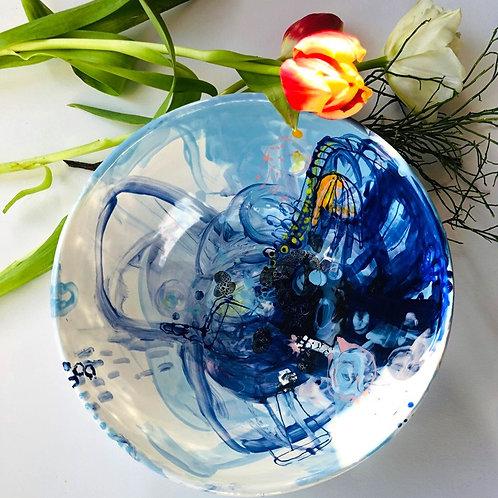 Salatschüssel 2 Bavaria Blue