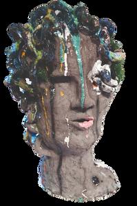 Kreamik Kopf Medusa seite