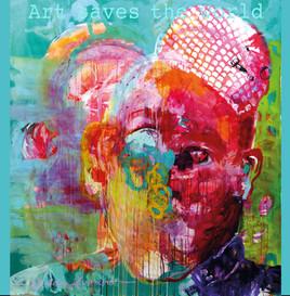 Art saves the world Schal