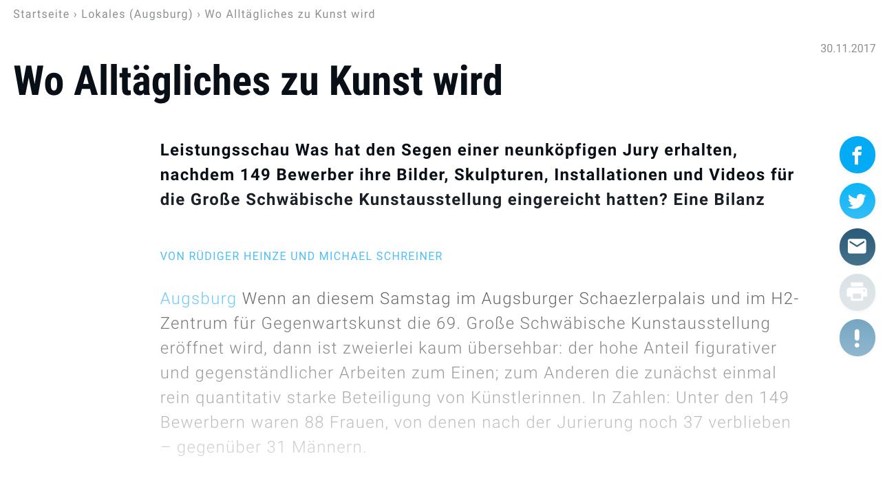 Presse Schaezlerpalais