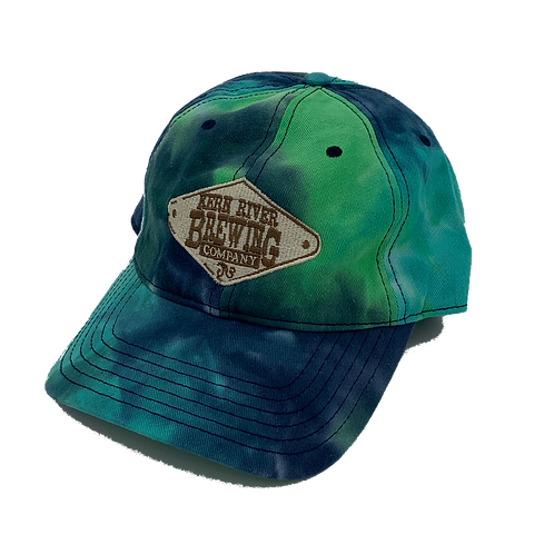 Embroidered Tie Dye Hat