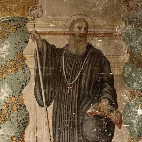 El fresco de San Benito en casa