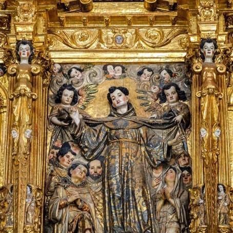 San Bernardino, patrono de Xochimilco.