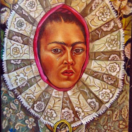 PINTURA: Autorretrato de Frida